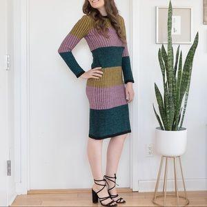 ASOS Long Sleeve Stripe Dress